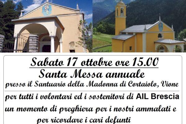 Santa Messa 2020 sabato 17/10